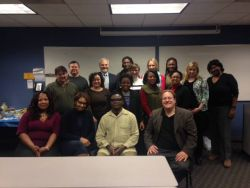 Brad Olson, PhD and Students from National Louis University Cohort 4, Chicago, IL, USA