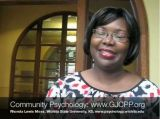 GJCPP Interview: Rhonda Lewis Moss, PhD