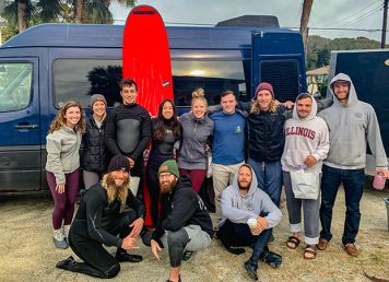 Surf Therapy with the Warrior Surf Foundation