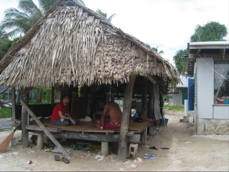 Community and Cultural Responsivity: Climate Change Research in Tuvalu by  Laura Kati Corlew